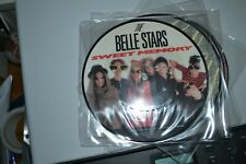 "BELLE STARS    SWEET MEMORY    PICTURE DISC   7"" RECORD     STIFF   P BUY 174"