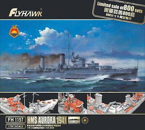 Flyhawk 1/700 WWII HMS Aurora 1941 Cruiser (Limited version) FH1157