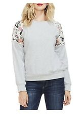 VINCE CAMUTO WOMENS LONG SLEEVES FRENCH TERRY SWEATSHIRT TOP M NWT MSRP $89 ABFB