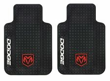 001644R01 Dodge Ram Floor Mat Car Truck SUV Rubber Plasticolor- 1 Pair SALE