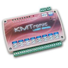 KMTronic UART Otto Canali Relè BOX, Seriale, 12V