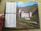 calendrier almanach PTT (la poste) 1980, château de la caze, la venise verte