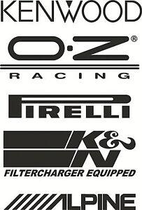 Racing Car Logo Nr2 funny van, windows, laptop, lorry JDM vinyl decal sticker