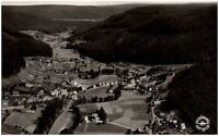 Enzklösterle bei Wildbad Schwarzwald Postkarte 1958 gelaufen Totale Luftaufnahme