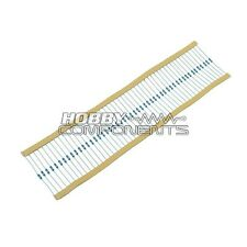 1 ohm 1/4W Resistors (Pack of 50)