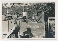 Foto LKW mit Gulaschkanone mit Aufschrift Teufelsbraten (9774)