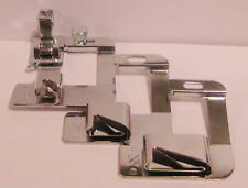 "Hemmer Foot Set - 1/2"", 3/4"", 1"" FOR NEW STYLE BERNINA w/adapter"