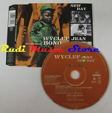CD Singolo WYCLEF JEAN FEAT BONO U2 New day 1999 COLUMBIA AUSTRIA no mc lp (S3*)
