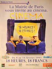 PUBLICITÉ AVEC EUROPE 1 LA MAIRIE DE PARIS VOUS INVITE AU CINÉMA