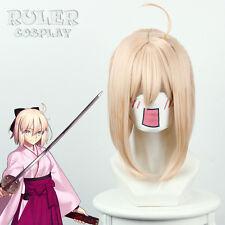 Anime Fate/Grand Order Okita Souji Cosplay Wig COS-235F