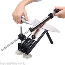 Professional Knife Sharpener Kitchen Sharpening System Fix-Angle 4 Stones Kit UK