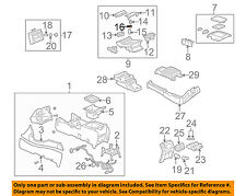 GM OEM Center Console-12V Power Outlet Retainer 25749635
