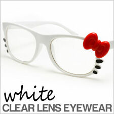 Hello Kitty Glasses Clear Lens Adorable Cute Theme Party Events UV Protected