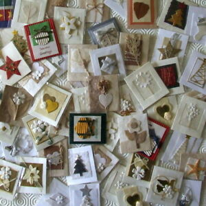 25 Assorted Handmade Toppers General, Love, Wedding & Christmas New