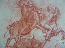 CHARLES LE BRUN ( 1619-1690) GRAVURE FAC SIMILE PROCEDE DANIEL JACOMET 1966