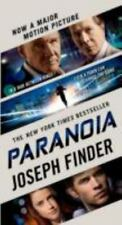 NEW - Paranoia: A Novel by Finder, Joseph