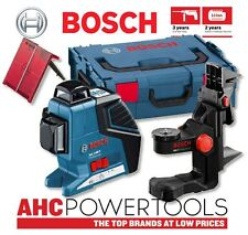 Bosch GLL3-80P Vertical and Horizontal Line Laser + BM 1 Wall Mount + L-Boxx