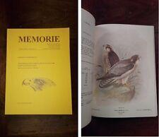 MARTORELLI G. - Monografia illustrata degli uccelli di rapina in Italia (1895).