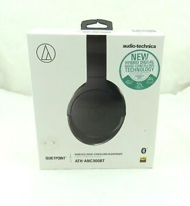 Audio Technica ATH-ANC900BT Over Ear Wireless Noise Cancelling Headphones -NEW