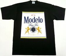 IT'S MODELO TIME FOO T-shirt Mexico Cerveza Mexican Beer Men's Tee New