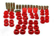 Energy Control Arm Bushing Hyper-Flex Front Lower/Upper Polyurethane Red Kit