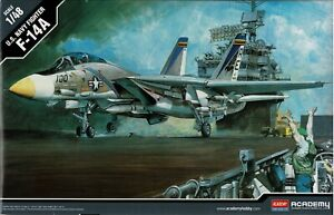 Academy 12253 F-14A U.S. Navy Swing Wing Fighter