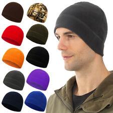 Knitted Beanie Hat Winter Warm Fleece Unisex Mens Ladies Ski Skull Cap