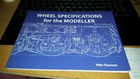 Wheel Specifications for the Modeller by Mike Sharman New Paperback Book