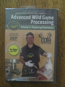Advanced Wild Game Processing HD DVD Volume 5: Mastering Marination 120+ minutes