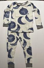 BURTS Bees KIDS Toddler 2T ORGANIC Cotton Moon Theme Pajama SET Boy GIRL