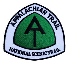 Appalachian Trail Patch Embroidered Iron/Sew on Badge National Scenic Trek USA