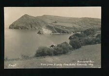 Devon BERRYNARBOR View from Sandy Cove Hotel c1920/40s? RP PPC by Garratt