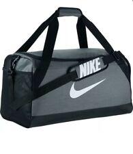 Nike Brasilia Duffel Bag Rucksack Training Gym BA5334 064 BNWT Genuine Item Grey