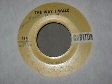 ROCKABILLY 45RPM JACK SCOTT W/THE CHANTONES VOCAL GROUP MIDGIE & THE WAY I WALK