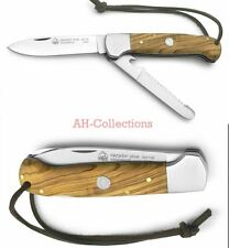 PUMA IP cazador olive Jagd-Taschenmesser mit Säge knife Handmade Rockwell 820136