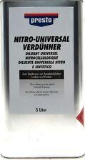 Nitro-Universalverdünner 5L Presto Verdünner 171659 Nitroverdünnung