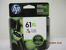 HP 61XL Tri-color ink cartridge exp. FEB 2018