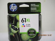 HP 61XL Tri-color ink cartridge exp. OCT 2018