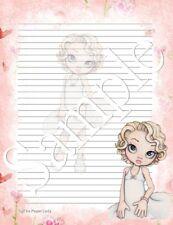 London Girls Stationery Big Ben 25 Sheet Letter Writing Paper /& 6 Stickers Set