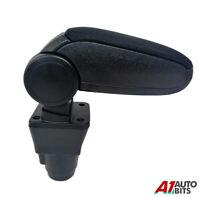 For Dacia Duster 2 2018+ Car Armrest Arm Rest + Assembly Set Black Textile
