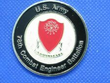 78th Combat Engineer Army Challenge Coin Last Reunion 2013 for Eastern Region
