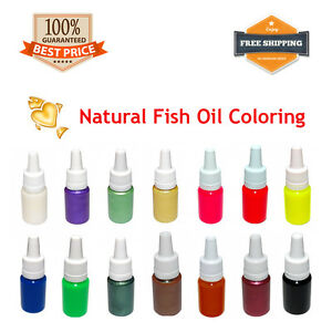 Fishing Color Pigment for Soft Plastic Bait Mold Lure Making