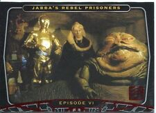 Star Wars 30th Anniversary Red Foil Stamped Parallel Base Card #28