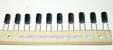 Condensateur 220uF 16V 105 °C Electrolytique Radial JAMICON Lot de 10