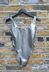Kim West Latex swimsuit/leotard size 10
