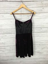 WOMEN'S NEXT Runway Collection Velvet Dress-UK16 DI ALTEZZA-NUOVO CON ETICHETTE