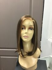 Bobbi Boss ESCARA ATHENA Long Lace Front Part Straight Synthetic Wig, 6/12F