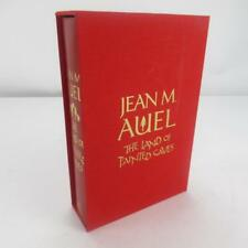 Signed Land of Painted Caves Jean M. Auel Good Hardback w/ Case
