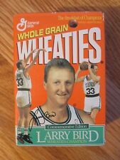 Rare LARRY BIRD Retirement Ceremony BOSTON GARDEN Feb 4 1993 Mini WHEATIES BOX