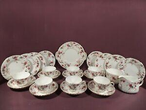 MINTON ANCESTRAL PATTERN, 25 PIECE TEA SET, 1ST QUALITY